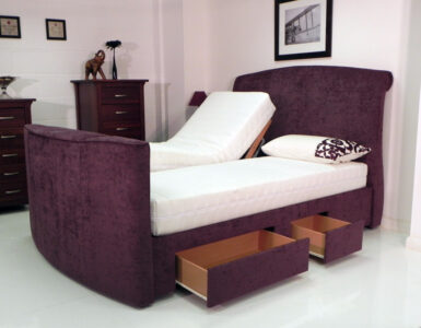 Avignon adjustable tv bed