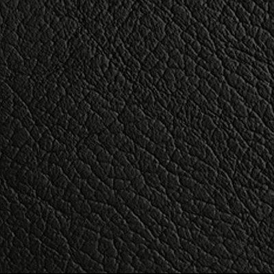 Black bonded leather