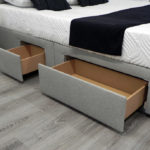 TV Bed with storage
