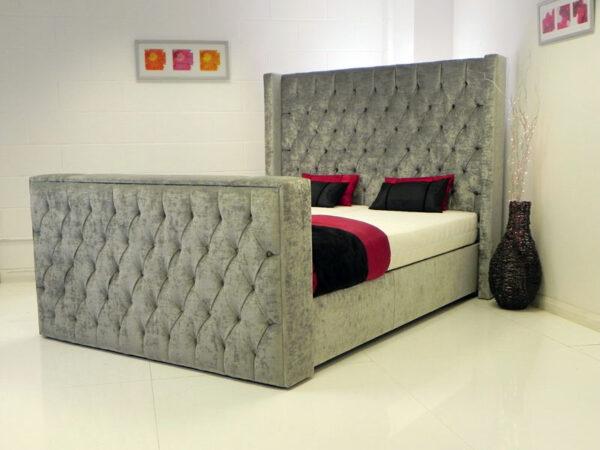 Incredible Eleanor 42 Tv Ottoman Bed With Storage Creativecarmelina Interior Chair Design Creativecarmelinacom