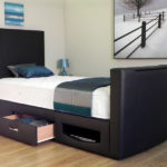 Newark TV Bed drawers