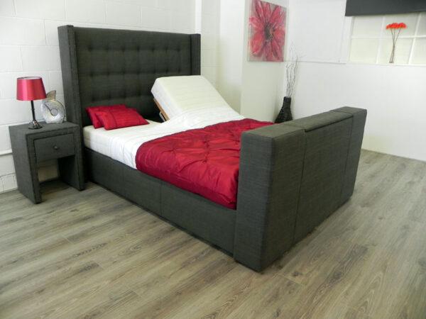 Olivia adjustable tv bed