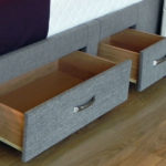 Sherbourne TV Bed storage drawers