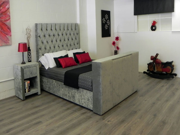 Peachy Victoria Ottoman Tv Bed Frame Andrewgaddart Wooden Chair Designs For Living Room Andrewgaddartcom
