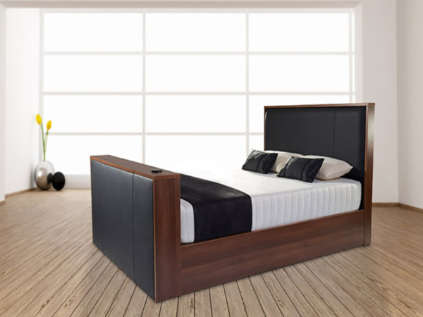 Worcester Tv Bed 0 Finance Available, Queen Size Tv Bed