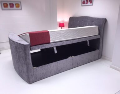 Evelyn ottoman tv bed
