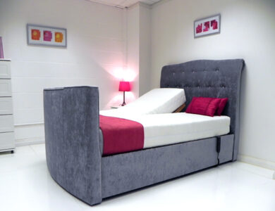 evelyn adjustable tv bed