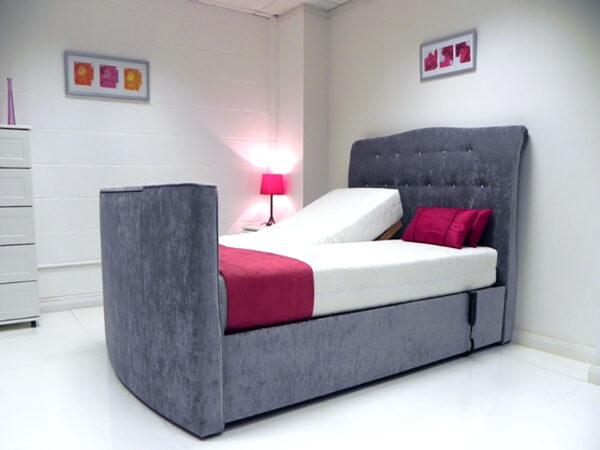 evelyn adjustable tv bed