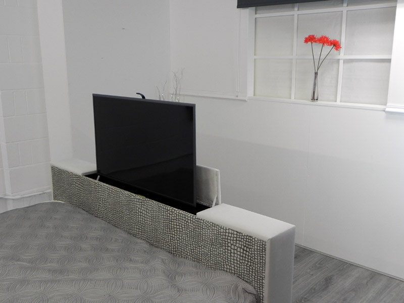 TV Bed with TV