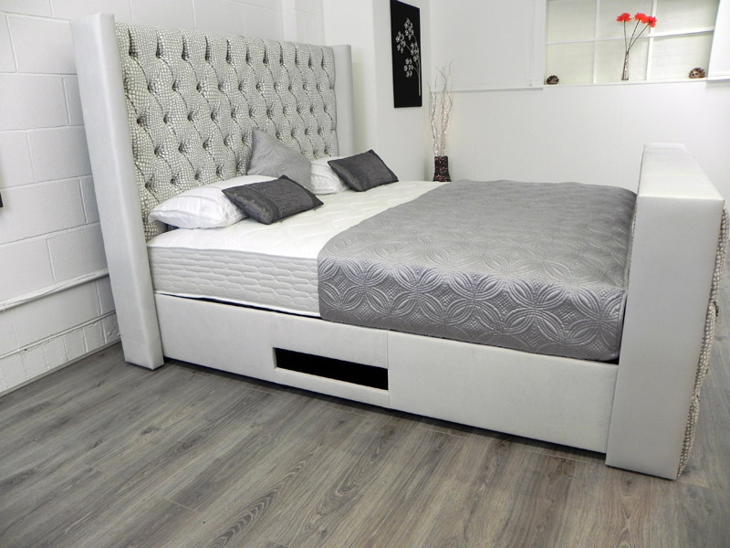 Bespoke TV Bed with mattress