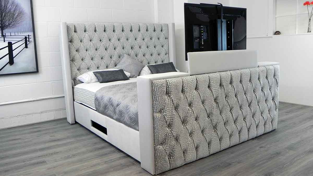 Philippe TV Bed with TV