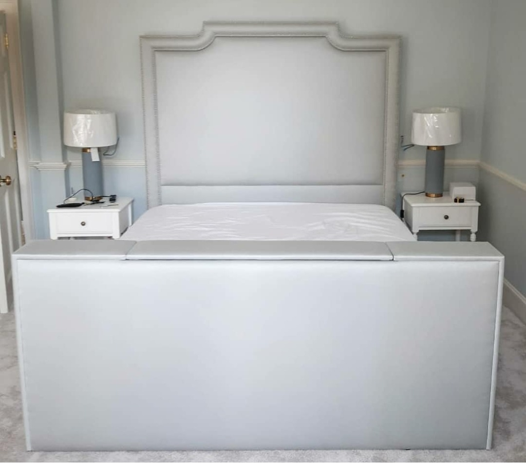 Empress bespoke TV Bed with headboard