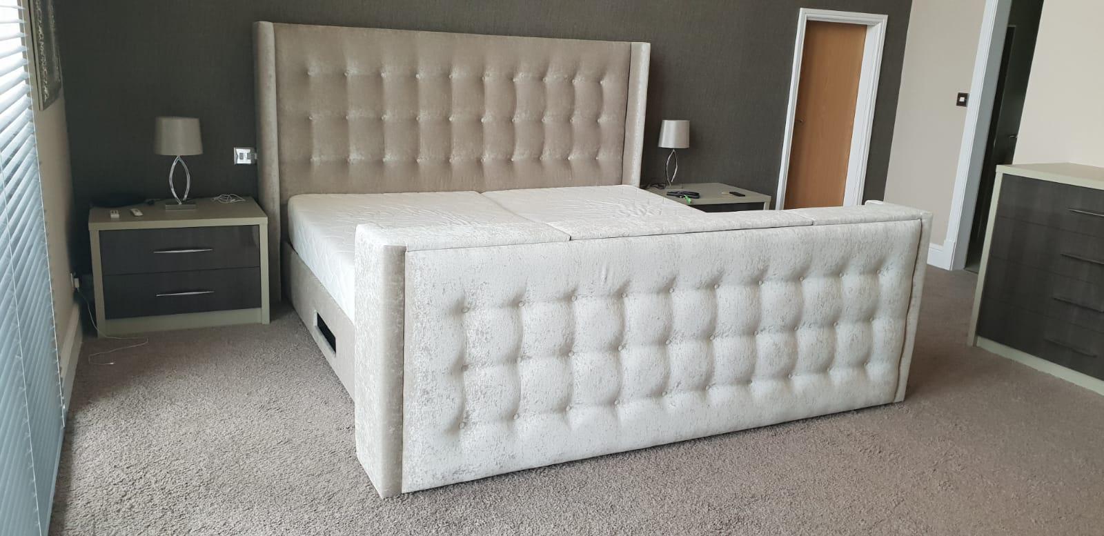 Emperor TV Bed - 7'0 wide