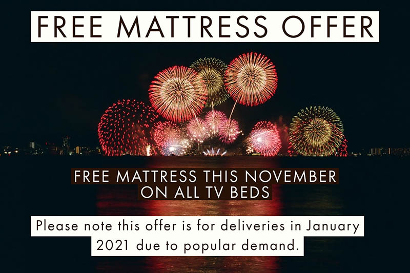TV Bed with mattress offer